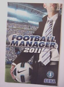 49857 Instruction Booklet - Football Manager 2011 - PC (2010)