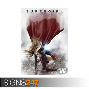 Super Girl TV Series Large Poster Art Print Gift A0 A1 A2 A3 A4 Maxi