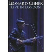 "LEONARD COHEN ""LIVE IN LONDON"" DVD NEU"