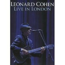 "LEONARD COHEN ""LIVE IN LONDON"" DVD NEU"