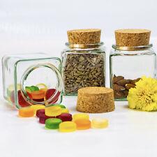 Gewürzglas mit Korken 200ml – Deko-Glas – Kräuterglas – Bonbonglas - Vorratsglas