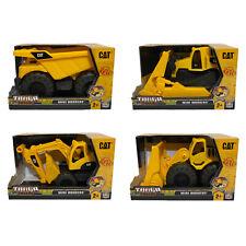 Lot of 4 Caterpillar CAT Tough Tracks Mini Workers Construction Site Vehicles