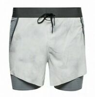Nike Tech Pack 2-in-1 Platinum Men's Size XL Running Shorts BV5687-094