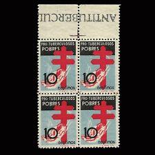 Sellos.España.1937.Pro Tuberculosis.B4.10C Nuevo**. Edifil 840