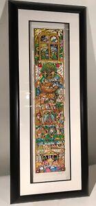 "Sold Out Charles Fazzino ""Celebration Of Spirit"" W/ Swarovski Crystals #145/375"