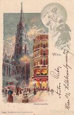 * AUSTRIA - Gruss Aus Wien - Stephansplatz 1900