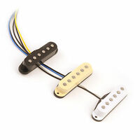 60s Vintage Hot AlNiCo V guitar pickups for Fender Stratocaster Strat Squier
