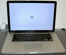 "APPLE MacBook Pro 2.0GHz i7 2nd Gen 15.4"" MC721LL A1286 Early 2011 SOLD AS IS"