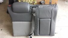 HOLDEN VE COMMODORE CALAIS WAGON 08 LEATHER RIGHT HAND & CENTRE REAR SEAT BACK