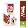 Purina Moist & Meaty Wet Dog Food, Awaken Bacon & Egg Flavor, 12 ct Pouch