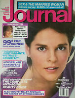 Ladies Home Journal Vtg Feb 1983 - Ali MacGraw Cover - No Label - EX