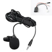 Car Bluetooth Cable AUX Adapter Wireless Audio Phone Call Handsfree Microphone