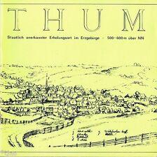 Thum Erzgebirge prospetto DDR 1984