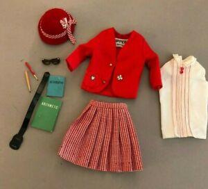 #1921 School Girl 1965 Skipper doll outfit VINTAGE BARBIE SISTER 60's