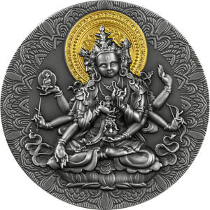 2020 Ancient Buddha 2oz Silver Antique Coin