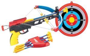 Kinder Armbrust-Set mit Zielscheibe und Sicherheitspfeilen