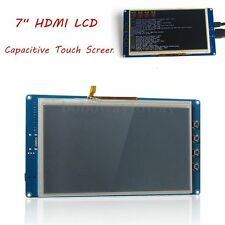 "7"" HDMI LCD 800×480 Capacitive Touch Screen LCD for Raspberry Pi 2 Banana Pi Bo"