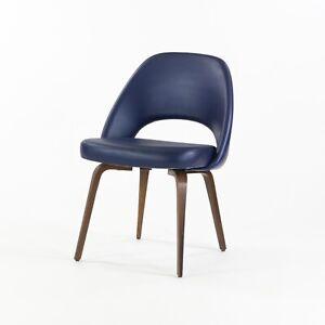 2009 Eero Saarinen for Knoll Studio Executive Armless Side Chair with Wood Legs