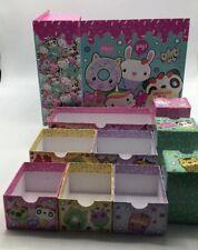 Kids Keepsake Box - Tri-Costal Design 9 Drawer Storage Box - Keepsake Organized