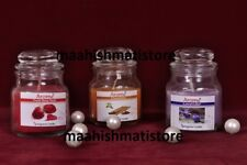 Jar fragrance Candle arome  Set of 3 piece