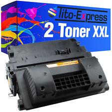 2x Toner PlatinumSerie für HP CF281X 81X LaserJet M 630 Z M 605 DNM M 605 XM M 6