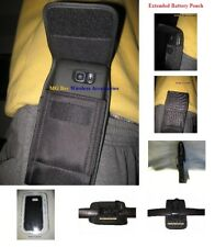 Extended Nylon Holster Pouch Fit Galaxy J3 2018/Amp Prime 3 Otterbox Case On