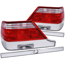 ANZO 1995-1999 Mercedes Benz S Class W140 Taillights Red/Clear - anz221153