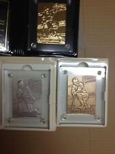 Rare Mickey Mantle Highland Mint 1992 Pinnacle Matched # Set Gold Silver Bronze