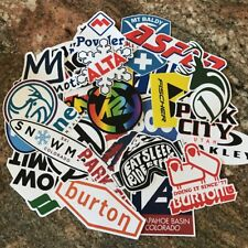 Ski Sticker Pack - Burton Oakley Alta K2 Aspen Kirkwood Mammoth Park City Vail