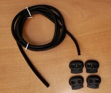 Conductive Silicone Rubber Tube TENS / ESTIM / E-STIM Machine 4mm OD 1.75mm ID