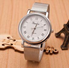 Elégante Montre femme Quartz Couleur Argent Bracelet métal Neuve PROMO