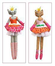 Gisela Graham angelical Modas 1x Bailarina Gato Decoración Árbol Navidad Regalo