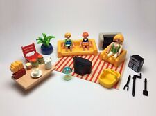 Playmobil Set 3230 Vacation Home House Replacement Parts + Figures Mom Kids Lot