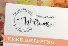 Return Address Stamp Wedding-Stamp Self Inking-Custom Stamp-Personalized Wedding
