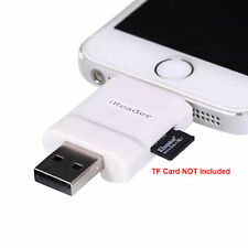 2in1 iReader i-Flash SD/TF USB Drive Card Reader For iPhone 6s Plus iPhone7 iPad