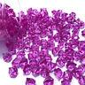 150pc Acrylic Crystal Ice Rock Stone Aquarium Vase Gems Table Wedding Decor Pink