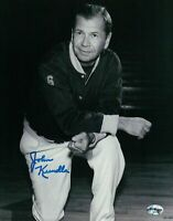 John Kundla Signed 8X10 Autograph Photo 2 Line Lakers Hall of Fame Coach