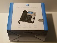 At&T(R) 17939 2-Line Corded Speakerphone with Caller Id & Digital Answering Syst