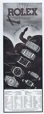 Original French Vintage Advert Ad ROLEX - 1939 - Horology Watch Prince Oyster