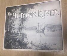 Rarezas, antiguo libro Hudson River americana rareza. de aprox. 1908 Rare Book