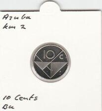 Aruba 10 cents 2001 BU - KM2