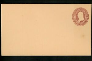 US Postal Stationery U279 Mint Envelope Entire 2c Brown on Oriental Buff