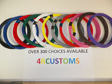 11 automotive wire 16 gauge HIGH TEMP GXL 25 feet each color ALWAYS HAVE STOCK