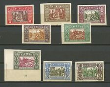 Lithuania Litauen 1932 MH Mi 332-339 Sc 264-271 IInd Child IMperforated