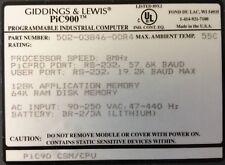 GIDDINGS & LEWIS: CSM/CPU : 8 MHz : 128K AppMem;64K RAM;RS-232 # 502-03846-00 R4