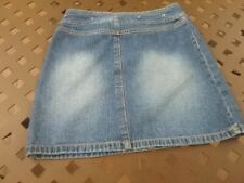 Xhilaration - Kids Color Studs Around The Waist Jean Skirt - Size 10/12