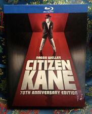 Citizen Kane (Blu-ray Disc, 2012, 2-Disc Set) 70th Anniversary Digibook OOP MINT