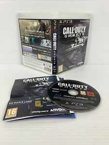 Call of Duty: Ghosts PS3 PlayStation 3 w/Manual FREE TRACKED POST