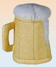 Beer Mug Hat NEW Tankard Pint Lager Fancy Dress Party Stag Accessory