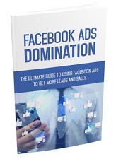 Facebook Ads Domination  - ebook on 1 CD